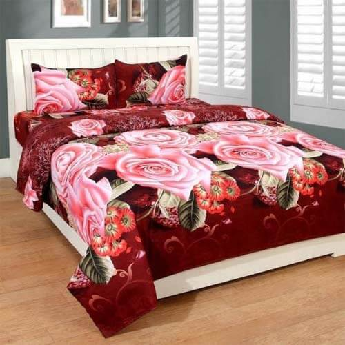 cotton bed sheet wholesaler, suppliers, manufacturers, exporters in india