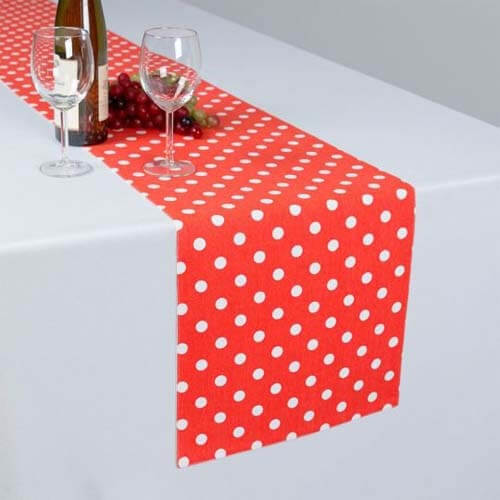 wholesale wedding satin cotton table runners