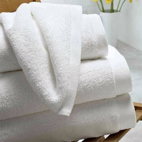 Luxury hotel quality bath towels wholesale suppliers in India