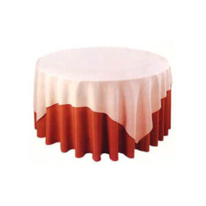 fabric black & white table skirts wholesale